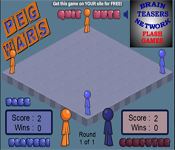 brainteasers network - pegwars game