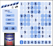 brainteasers network - sudoku puzzle