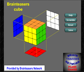 brainteasers network - virtual cube puzzle